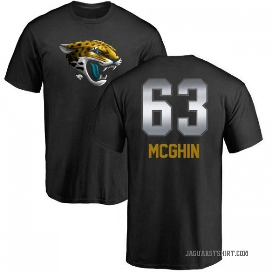Youth Garrett McGhin Jacksonville Jaguars Midnight Mascot T-Shirt - Black